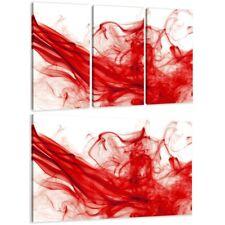 Immagini Red Smoke Digital ART Tela Incorniciato marchio Visario Immagini Parete 1512 d2