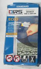 Ecco Moustiquaire Fermeture Scratch Porte Réseau Polyester 140x250 cm