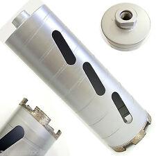 "4"" Dry Diamond Core Drill Bit for Concrete Masonry 5/8""-11 Threads"