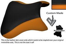 Naranja Y Negro Custom encaja Kawasaki Ninja Zx9r 98-02 Zx9 R delantera cubierta de asiento