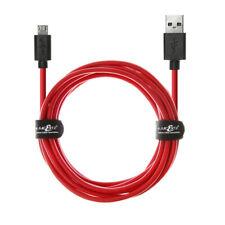 20AWG Micro USB Rapide Données Câble De Chargeur Plomb Pour Samsung Galaxy S4 S5 S6 S7 Edge