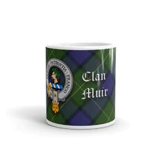 Muir Clan Crest Coffee / Tea Mug - Scottish Cup 10oz / 295ml