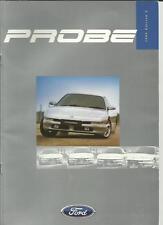 Ford Probe 16V & 24V COCHE FOLLETO edición 2 de octubre de 1996.