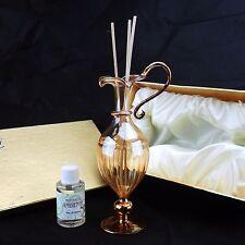Bomboniera matrimonio Profumatore in vetro soffiato AMBRA con scatola art.266
