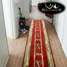 épais coureur de Hall Jeu chaleur Primo 5123 rouge largeur 70-140cm Extra Long