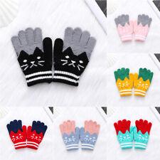 Girls Boys Imitation Cashmere Magic Mittens Cute Baby Gloves Kids Baby Gloves