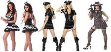 COPS ROBBERS MOBSTER GANGSTER PRISONER BUGSY MAALONE CONVICT LADIES FANCY DRESS
