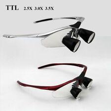 TTL 2.5X/3.0X/3.5X Dentist Binocular Loupes Dental Surgical Magnifier Customized