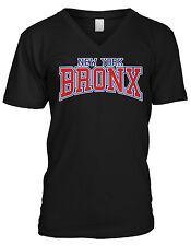 Bronx Pride NYC New York City Pride Borough County Mens V-neck T-shirt