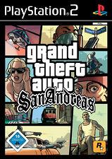 GRAND Theft Auto: San Andreas ps2 PLAYSTATION 2