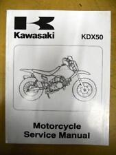 Kawasaki Service Manual 2003 KDX50 A1