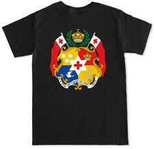 Tonga Badge Men's Black T Shirt