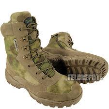 Teesar US Tactical Boots A-TACS FG Einsatzstiefel mit YKK Zipper Kampfstiefel