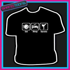 EAT Sleep Karate maglietta