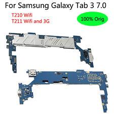 Original For Samsung Galaxy Tab 3 7.0 T210 T211 3G + WIFI Mainboard Logic Board