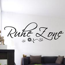 223 Ruhe Zone wandtattoo Wohnzimmer, Schlafzimmer,Relax,Sticker,Tapetenaufkleber