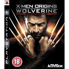 X-Men Origins: Wolverine - Uncaged Edition (PS3), Excellent PlayStation 3, Plays