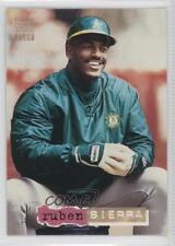 1994 Topps Stadium Club Golden Rainbow #307 Ruben Sierra Oakland Athletics Card