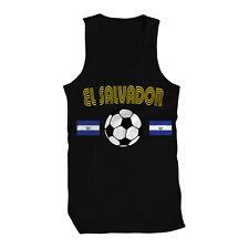 El Salvador Salvadorian National Flag  Country Los Cuscatlecos Mens Tank Top