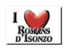 CALAMITA FRIULI VENEZIA GIULIA MAGNETE SOUVENIR I LOVE ROMANS D'ISONZO (GO)
