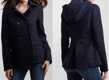 NWT AEROPOSTALE Aero Women Juniors Hooded PeaCoat Jacket Sizes S, M, L, XL, XXL