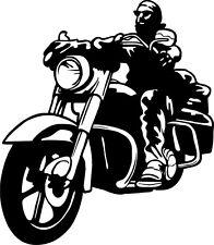 Autoaufkleber Motorrad 064 Biker Rocker Moped Sticker Aufkleber