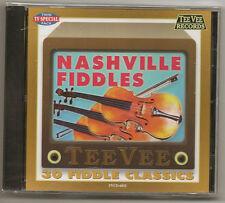 """NASHVILLE FIDDLES, CD """"30 FIDDLE CLSSICS"""" NEW SEALED"""
