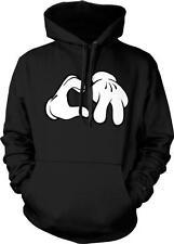 California Cartoon Hands Cali Life Swag West Coast Music Hoodie Pullover