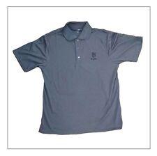 Buddy Rich Apparel BR Shirld Polo collared 3 button short sleave gray Shirt