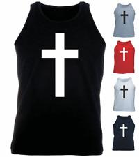 Croix religion cristianity Gothique Nouveau Cadeau Athlétique Débardeur