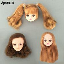 Doux de haute qualité bricolage tête de poupée pour licca doll Heads for Barbie doll 1/6 BJD À faire soi-même