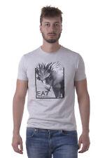 T-shirt Maglietta Emporio Armani EA7 Sweatshirt % Uomo Grigio 3YPTE7PJ78Z-3904