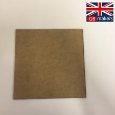 MDF Square 10cm 20cm 30cm 40cm 50cm 3mm 6mm Wooden