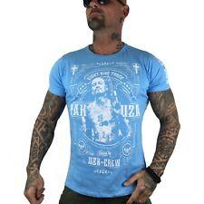 "YAKUZA - Herren T-Shirt TSB 8021 ""Mex Crew"" ethereal blue (blau)"