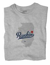 Rankin Illinois IL Ill T-Shirt MAP
