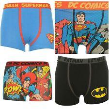 Ragazzi Superhero Superman Batman Pantaloncini Boxer Intimo Mutande~età 5-13