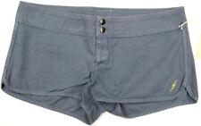 Lightning Bolt Shorts 100% Cotton Retro Surf Styled Cool Grey Casual Shorts