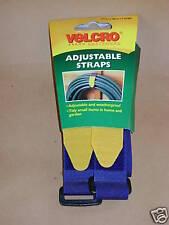 Nuevo Velcro Correas Ajustables 25mm X 46cm X 2 Correas 60328