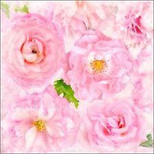 Cora Niele : Suave Flowers II camilla-imagen de Pantalla flores, ROSAS moderno