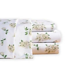 Magnolia Blossom Floral Microfiber Bed Sheet Set