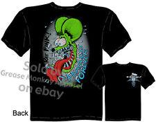 Fearless Forever RatFink Clothes Big Daddy Tee Ed Roth T Shirt Sz M L XL 2XL 3XL
