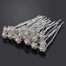épingles à cheveux Parure pour mariage perles strass bijoux de Jugendweihe confi