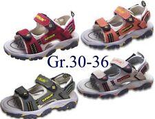 Jungen Leder Sandale Trekking-Sandalen Outdoor Sandaletten @2480