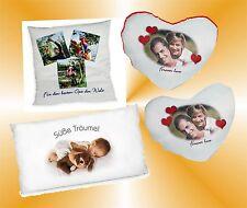 Valentinstag Fotokissen individuell Foto Herz Kissenbezug Liebe Geschenk