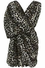 TOPSHOP LEOPARD SILK DRESS BY BOUTIQUE SIZE8