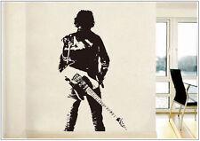 Wandtattoo wandaufkleber wandsticker photo  Porträt Music Gitarre wph28