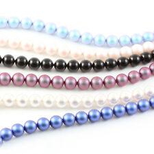 Sterling Silver Bracelet 19cm+3cm with SWAROVSKI 5810 8mm Round Crystal Pearls