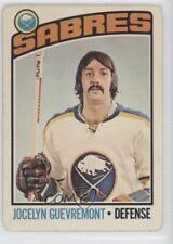 1976-77 O-Pee-Chee #108 Jocelyn Guevremont Buffalo Sabres Hockey Card