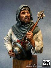 Black Dog 1/10 Crusader holding Mace and Helmet Bust [Resin Figure Model] B10004
