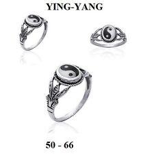 Bague Unisexe Filigramme YING-YANG T50 à 66 Argent Massif 925 de Dolly-Bijoux